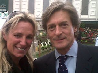 Me and Nigel Havers