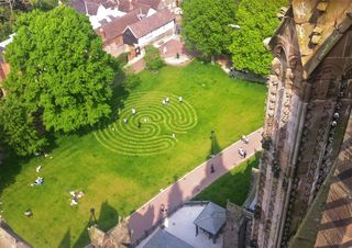 Labyrinth from tower